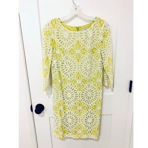 Badgley Mischka lace dress